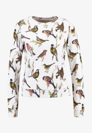 AUTUMN BIRDS - Felpa - offwhite