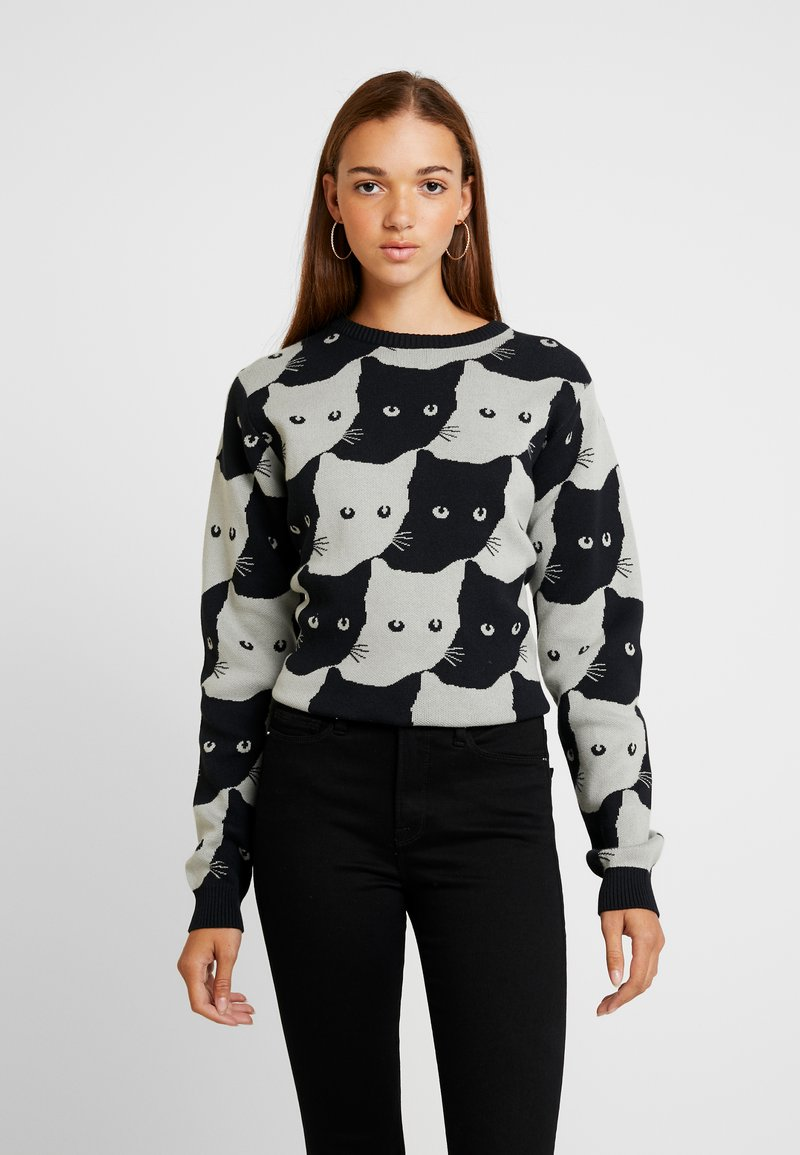 Dedicated - ARENDAL CATS - Pullover - grey