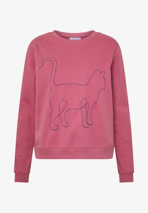 YSTAD ONE LINE CAT - Sweater - rose