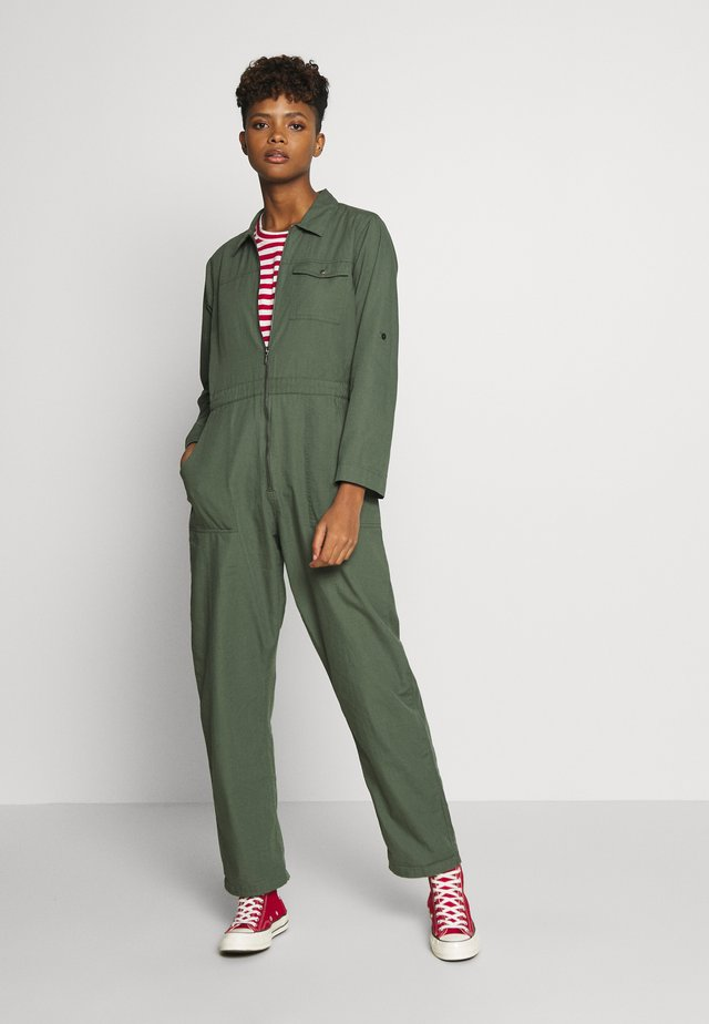 OVERALL HULTSFRED - Jumpsuit - green