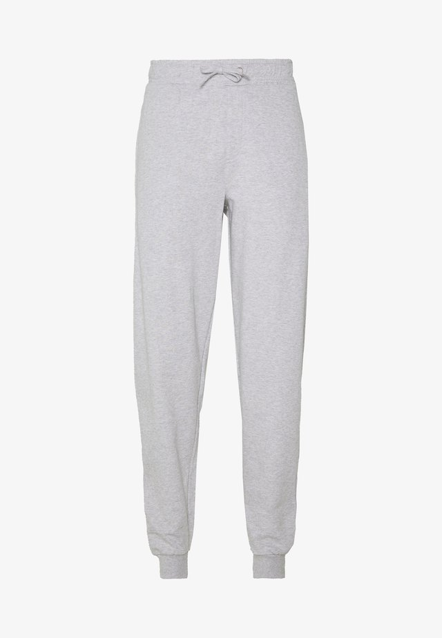 LUND DEDICATED LOGO - Trousers - grey melange
