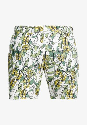 LAHOLM BANANA LEAVES - Shorts - off-white