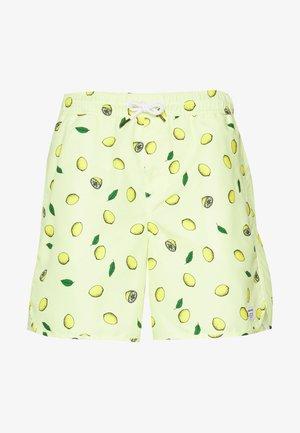 SANDHAMN LEMONS - Tracksuit bottoms - yellow