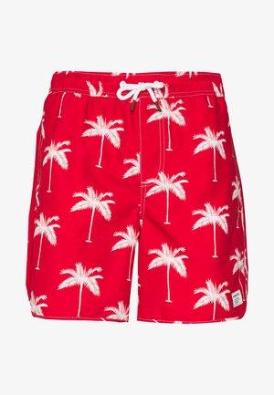 SANDHAMN PALMS - Shorts - red