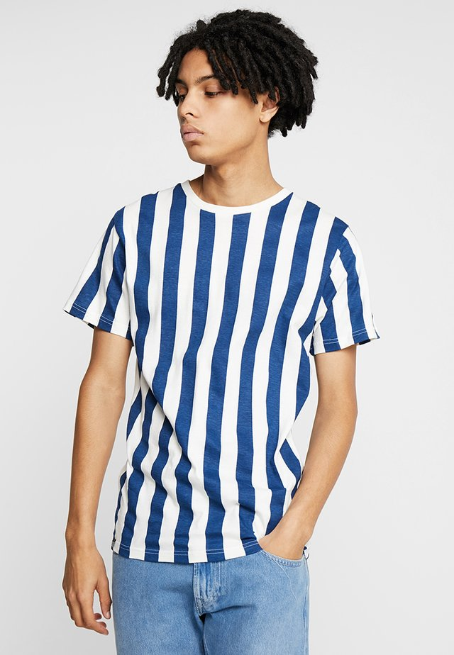 BIG STRIPES - Print T-shirt - off-white