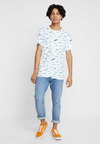 Dedicated - SMALL FISH - T-shirts print - white - 1