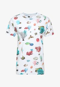 Dedicated - CORAL REEF - T-shirts print - off-white - 3