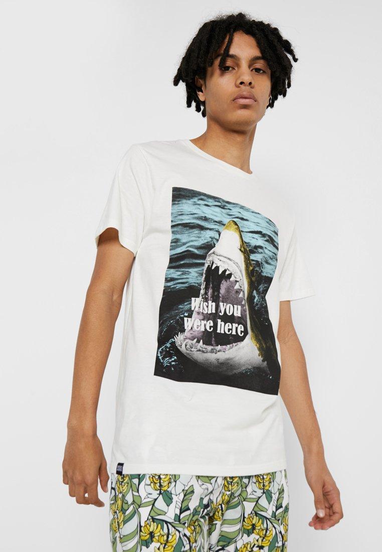 Dedicated - WISH YOU WERE HERE - T-shirts print - white