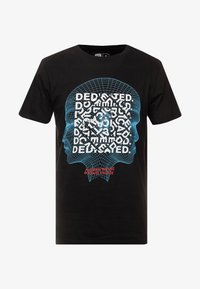 Dedicated - STOCKHOLM HUMAN BEING - Camiseta estampada - black - 4