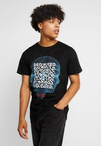 Dedicated - STOCKHOLM HUMAN BEING - Camiseta estampada - black - 0