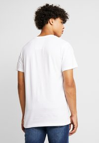 Dedicated - STOCKHOLM BACK TO REALITY - T-shirt print - white - 2