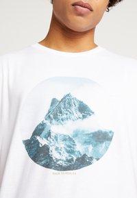 Dedicated - STOCKHOLM BACK TO REALITY - Print T-shirt - white - 5