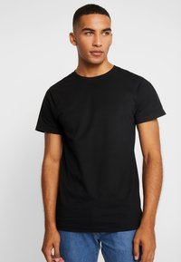 Dedicated - STOCKHOLM - T-shirt basic - black - 2