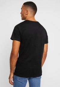 Dedicated - STOCKHOLM - T-shirt basic - black - 3