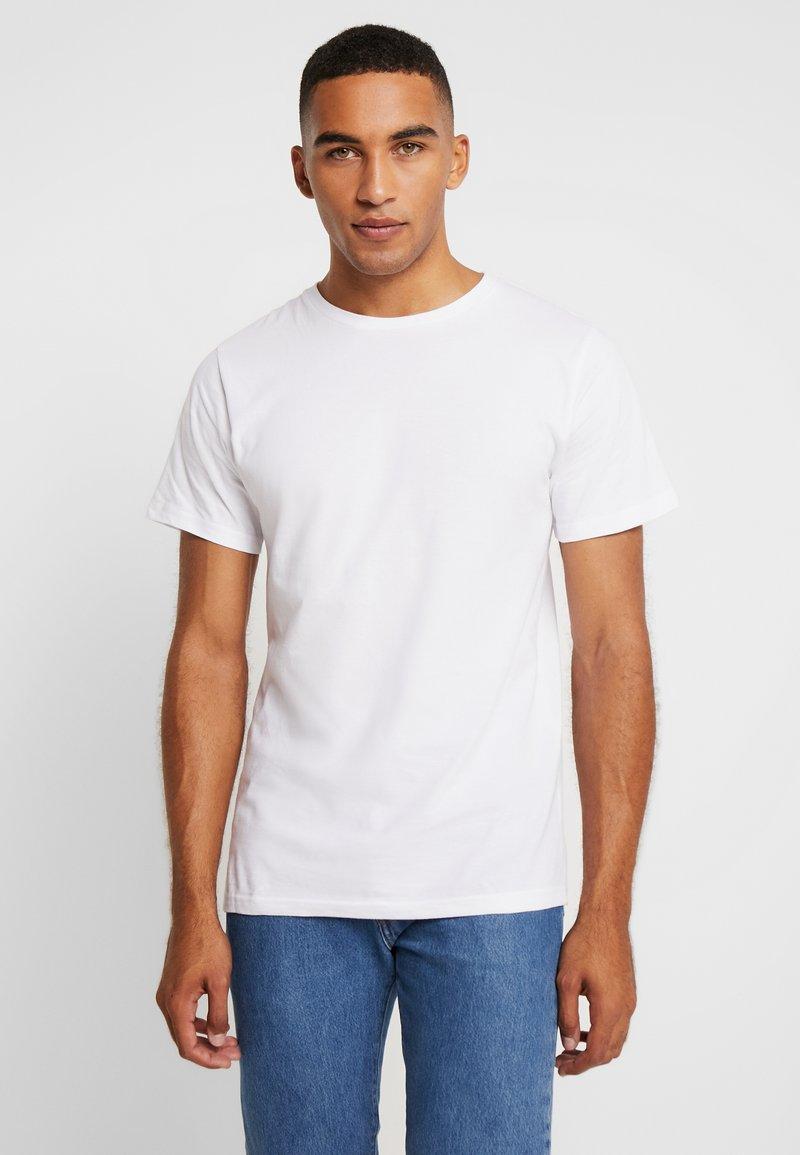 Dedicated - STOCKHOLM - T-shirt basic - white