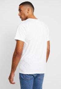 Dedicated - STOCKHOLM - T-shirt basic - white - 2