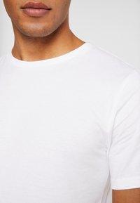 Dedicated - STOCKHOLM - T-shirt basic - white - 5