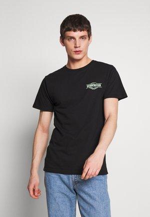 STOCKHOLM GOOD HANDS - T-shirt imprimé - black