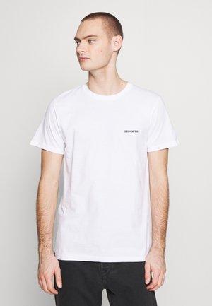 STOCKHOLM LOGO - Print T-shirt - white