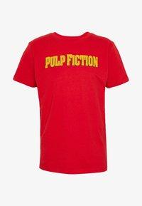 Dedicated - STOCKHOLM PULP FICTION - T-shirt imprimé - red - 3