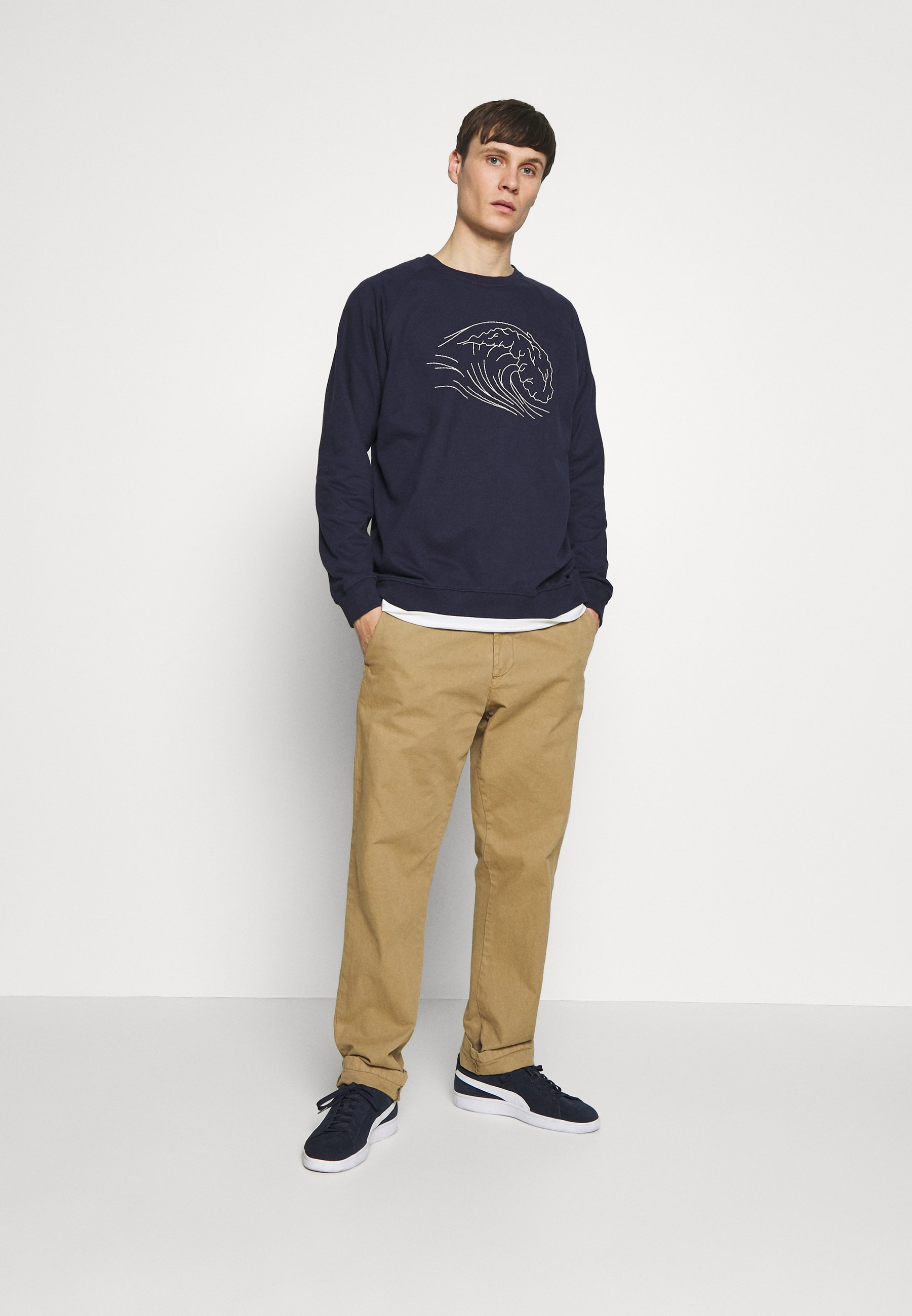 Dedicated MALMOE BICYCLE Sweatshirt off white Zalando.at