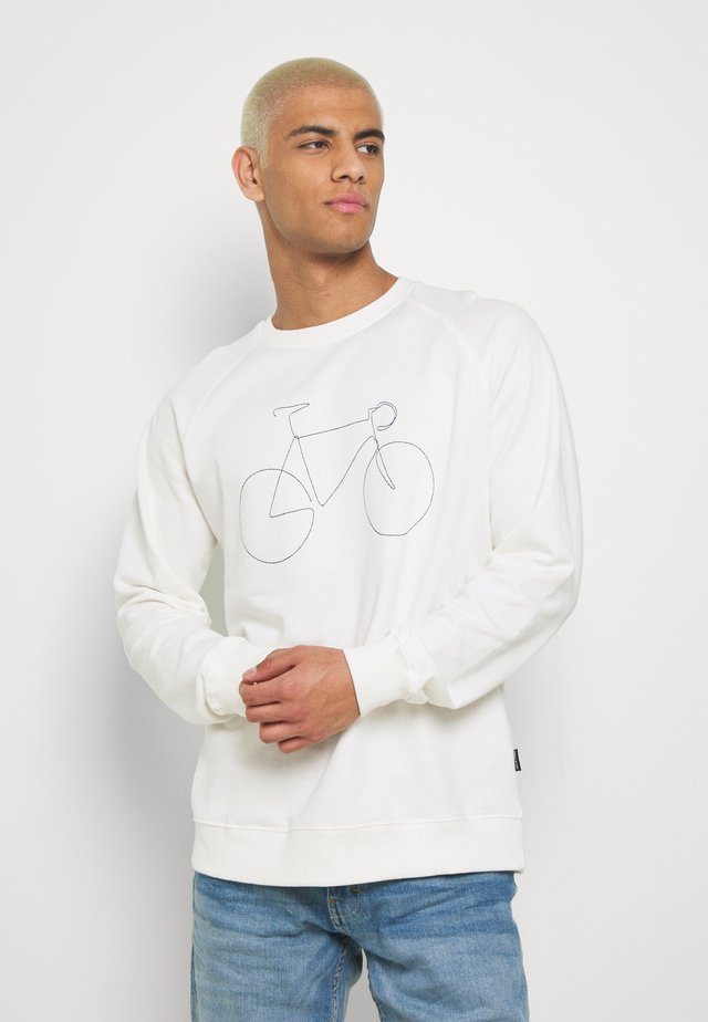 MALMOE BICYCLE - Sweatshirt - off-white