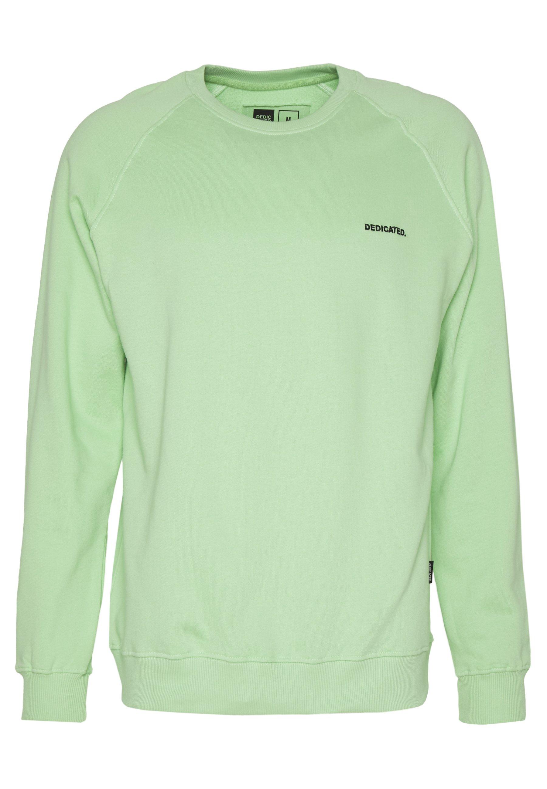 Dedicated MALMOE DEDICATED LOGO - Bluza - mint