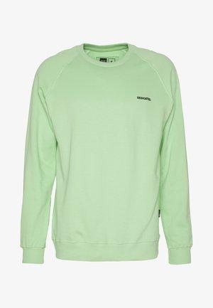 MALMOE DEDICATED LOGO - Sweatshirt - mint