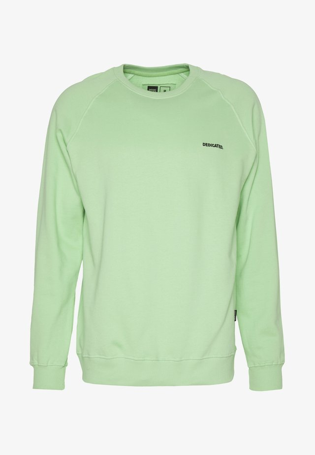 MALMOE DEDICATED LOGO - Sweatshirt - mint