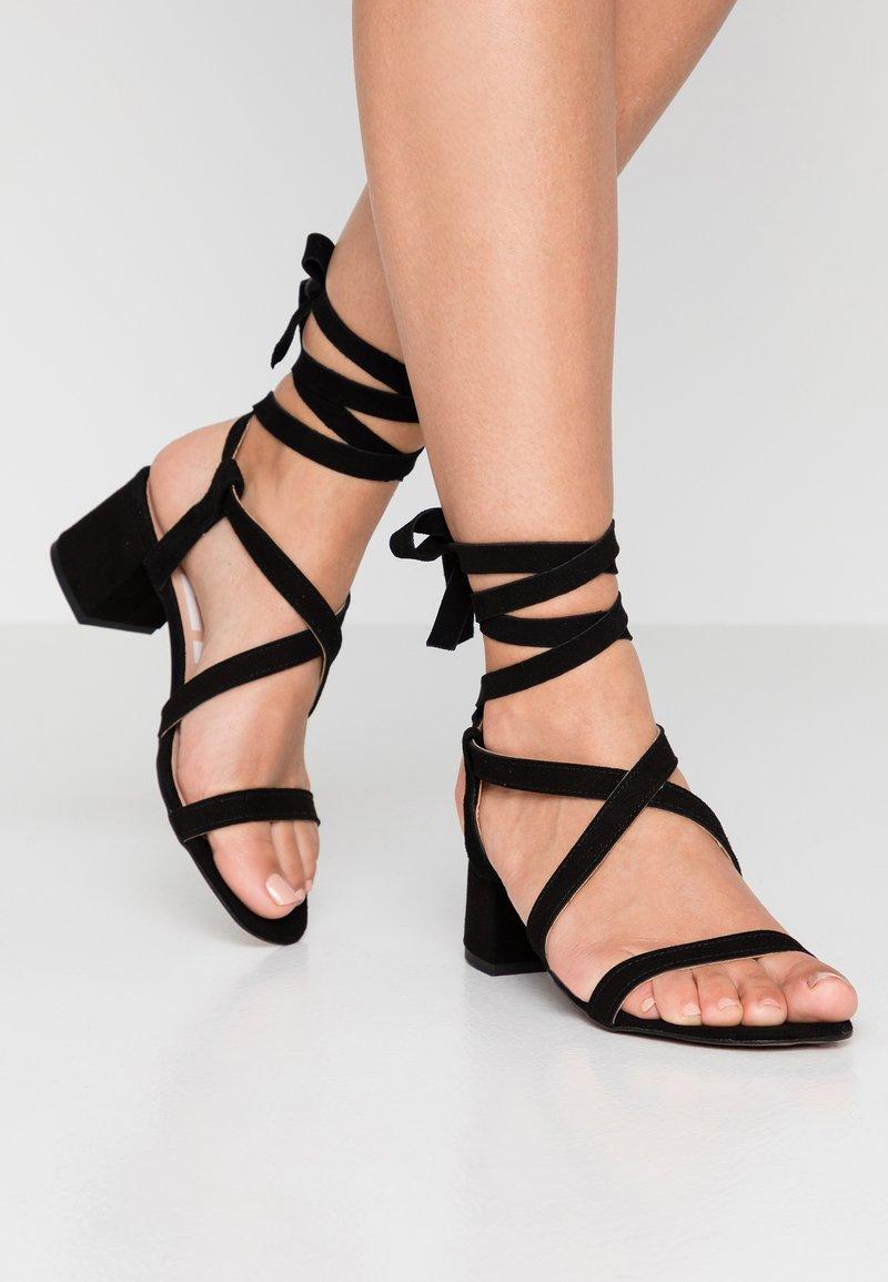 Depp - Sandaler - black