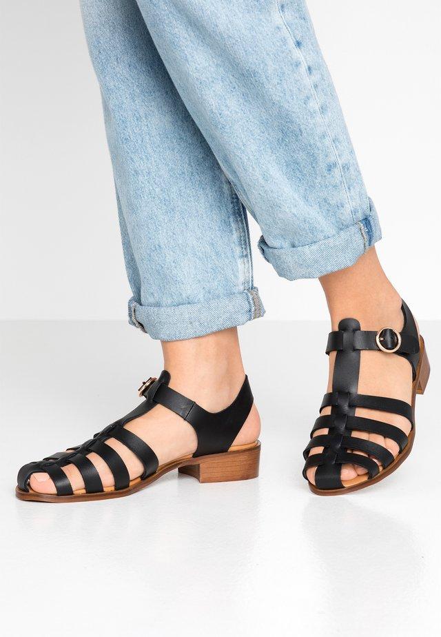 Sandals - crust black