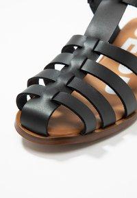 Depp - Sandalias - crust black - 2