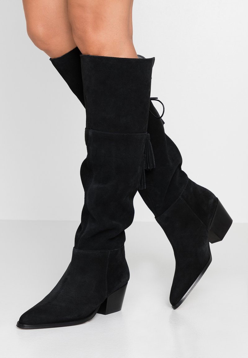 Depp - Over-the-knee boots - black
