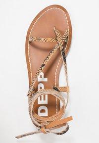 Depp - Sandály s odděleným palcem - sand - 3