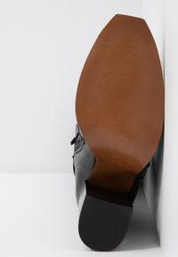 Depp - Botas de tacón - black - 6