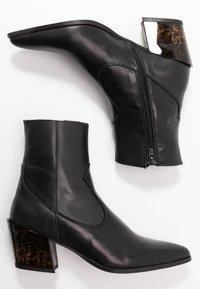 Depp - Kovbojské/motorkářské boty - black - 3