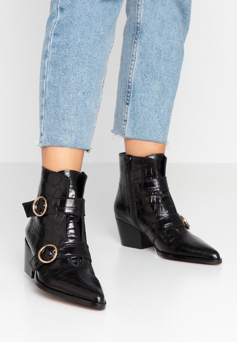 Depp - Ankelstøvler - black