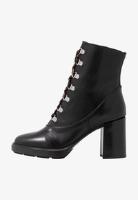 Depp - Kotníkové boty na platformě - black - 1