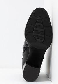 Depp - Kotníkové boty na platformě - black - 6
