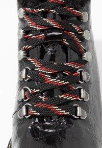 Depp - Šněrovací kotníkové boty - black - 2