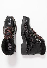 Depp - Šněrovací kotníkové boty - black - 3