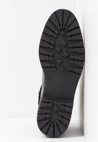 Depp - Šněrovací kotníkové boty - black - 6
