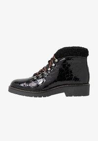 Depp - Šněrovací kotníkové boty - black - 1