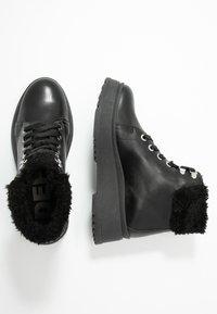 Depp - Platform ankle boots - black - 3