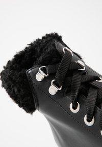 Depp - Kotníkové boty na platformě - black - 2