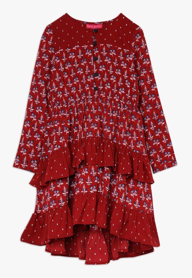 AURIANE - Shirt dress - rouge