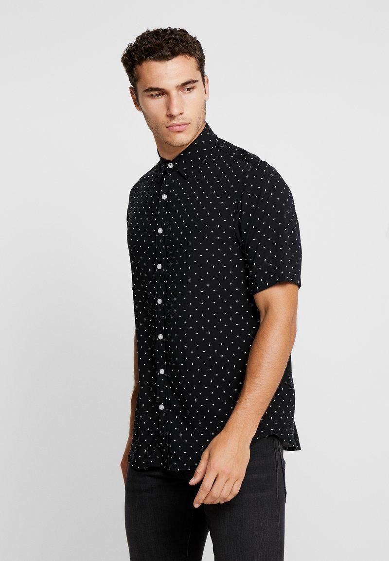 Denim Project - Overhemd - black/white