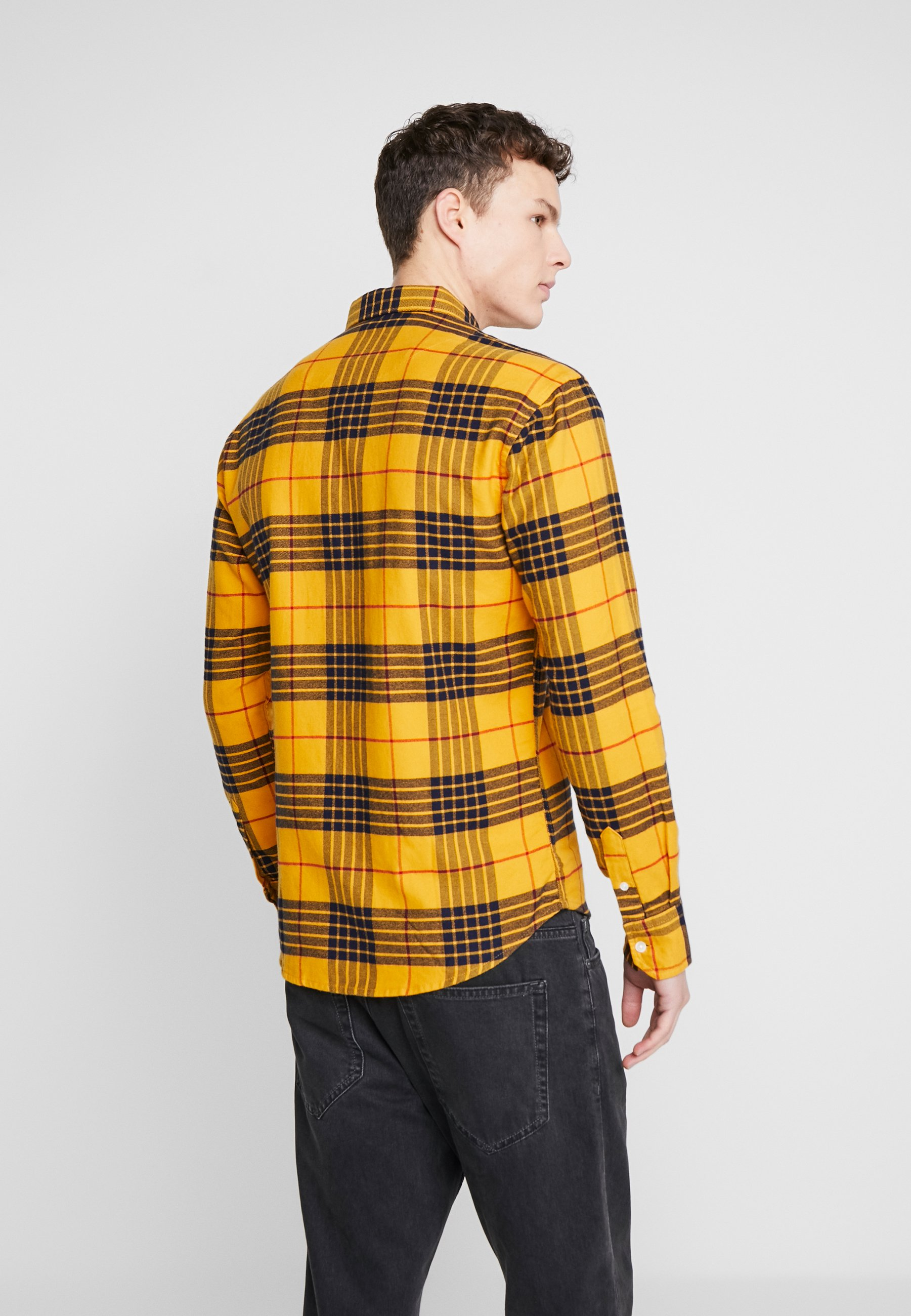 Denim Project FANNEL SHIRT Skjorte yellow Zalando.no