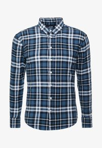 Denim Project - FANNEL SHIRT - Skjorta - blue - 3