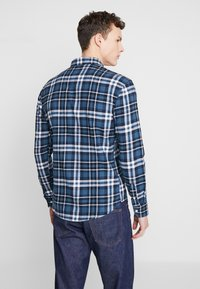 Denim Project - FANNEL SHIRT - Skjorta - blue - 2
